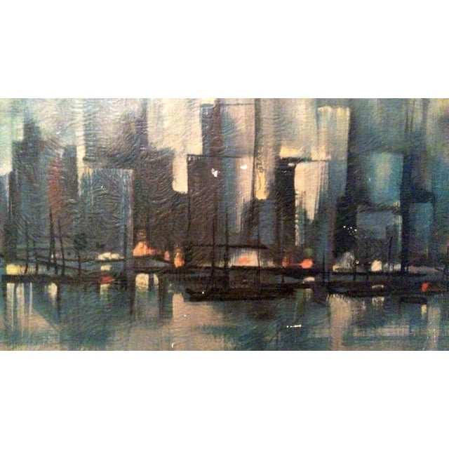 Ozz Franca Mid-Century Cityscape Lithograph - Image 6 of 10