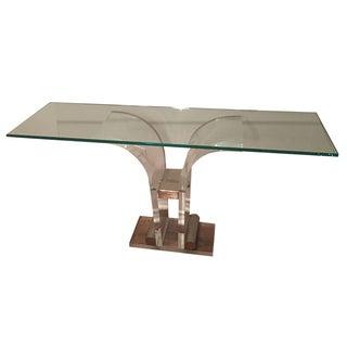 Art Deco Glass Console