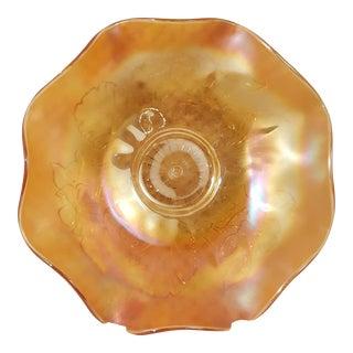 Northwood Marigold Poppy Bowl