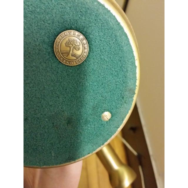 Levenger Brass Gooseneck Reading Lamp - Image 7 of 7