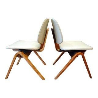 Mid-Century Thonet Chairs by Joe Atkinson - a Pair