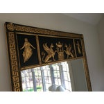 Image of Greek Key Black & Gold Mirror