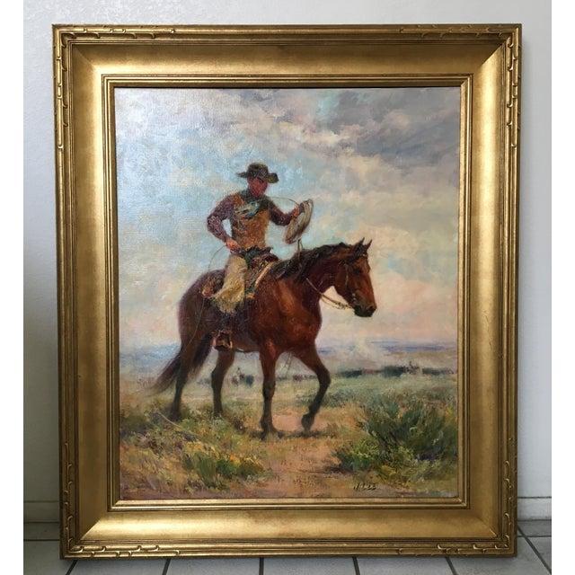 """Montana Artist Joyce Lee """"Practice Loop"""" Original Painting - Image 3 of 9"""