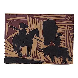 """Vintage Picasso Lithograph-""""Avant La Pique"""""""