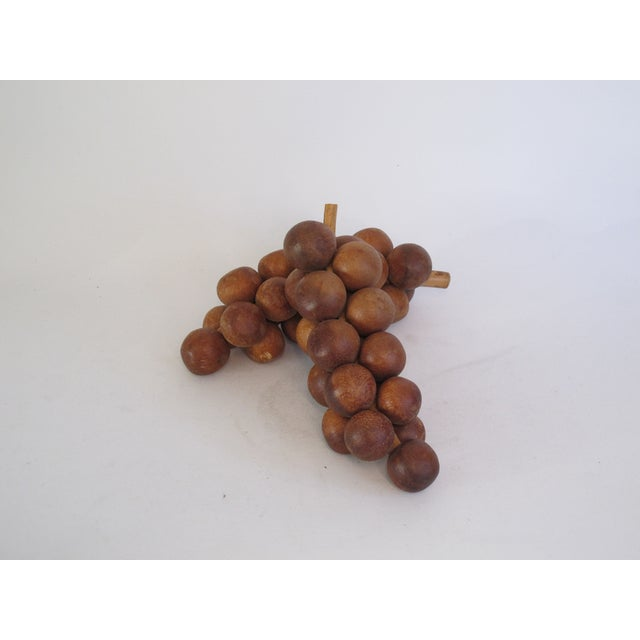 Wooden Grapes - Pair - Image 2 of 4