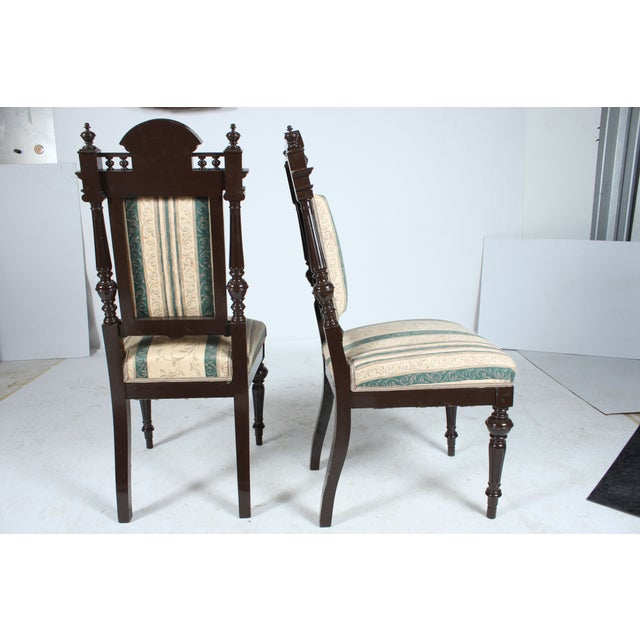 Baroque style dining chairs set of 4 chairish for Baroque style dining chairs