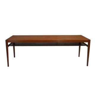 Ludvig Pontoppidan Teak Long Coffee Table
