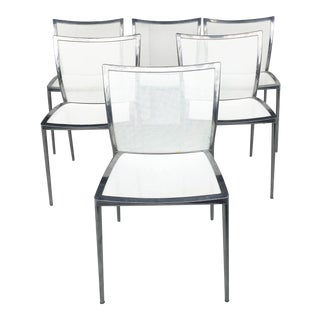 Zanotta Italy Dining Chairs - Set of 6