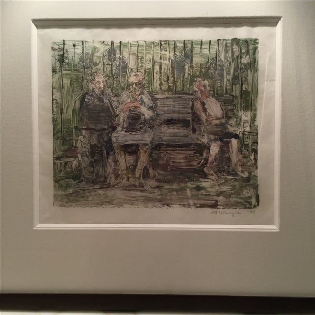 """Image of """"Park Bench"""" by Mary Beth McKenzie"""