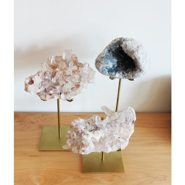 Image of Himalayan Pink Quartz on Stand - Large