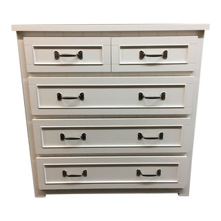 White Pottery Barn Chest