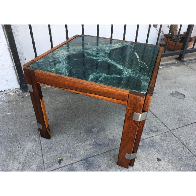 Verde Green Marble Top Side Table - Image 8 of 10