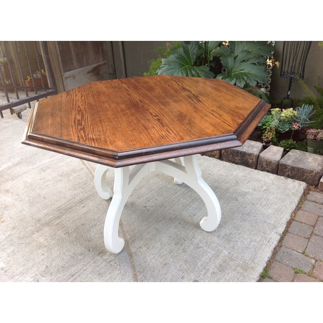 Vintage Octagonal Table - Image 5 of 5