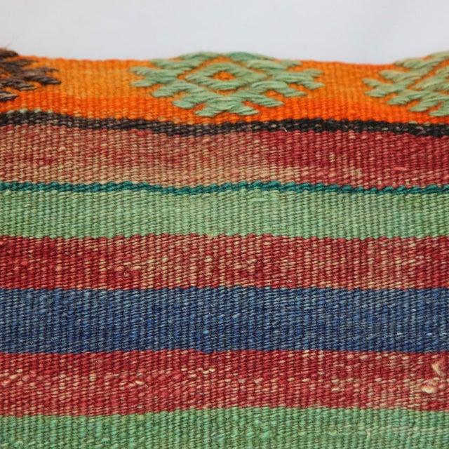 Turkish Handmade Kilim Pillow Cover - Image 5 of 7