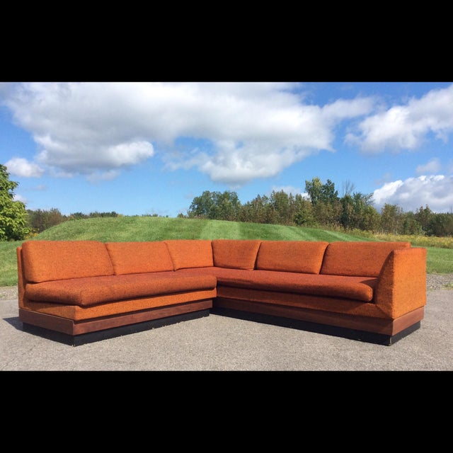 Adrian Pearsall Sectional Sofa Craft Associates - Image 2 of 11