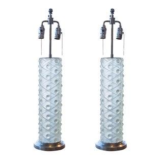 "Sirmos ""Borghese"" Lamps - Pair"