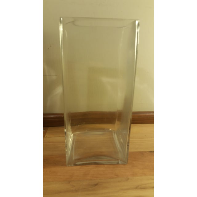Rectangular Glass Vase - Image 3 of 5