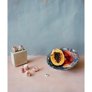 Still Life Photograph With Papaya and Shells