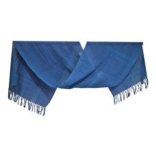 Indigo Blue Natural Dye Cotton Table Runner