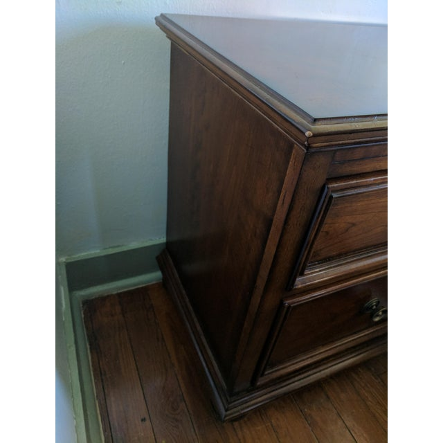 Nightstand or End Table With Pull-Out Tray - Image 5 of 5