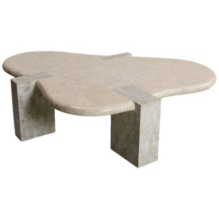 Maitland-Smith Amorphic Tessellated Stone Coffee Table
