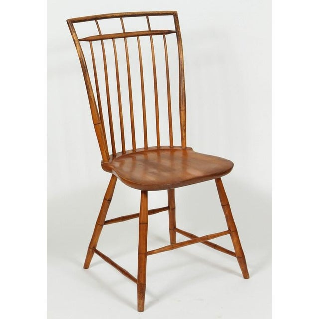 Windsor Chairs With Pinned Backs - A Pair - Image 2 of 6