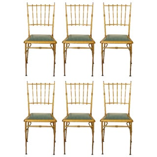 Metal Chiavari Chairs - Set of 6