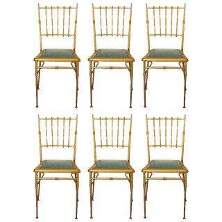 Metal Chiavari Chairs - Set of 6