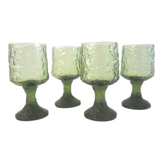 Lenox Avocado Crystal Wine Glasses - Set of 4