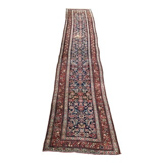"Antique Kurdish Runner - 3'4"" x 16'9"""