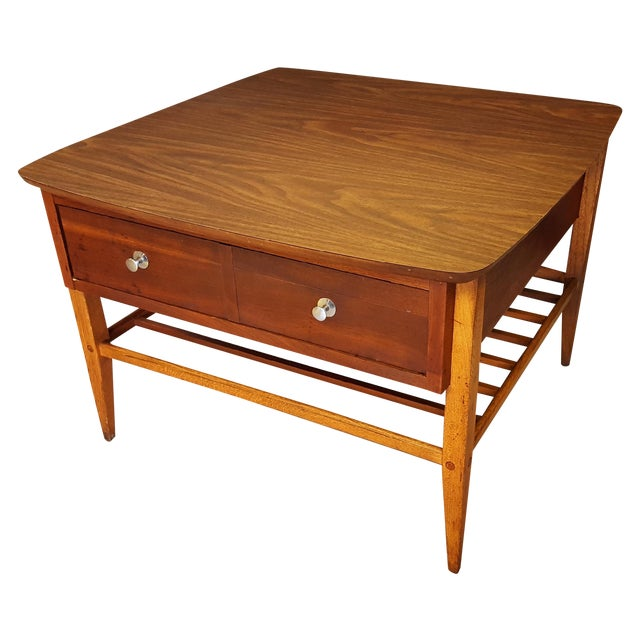 Mid-Century Lane Co. Single Drawer Side Table - Image 1 of 11