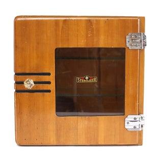 Vintage Medical Sterilizer Apothecary Cabinet
