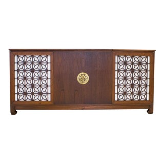 Mid-Century Asian Style Stereo Credenza