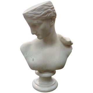Italian Marble Bust of Psyche of Capua or Venus