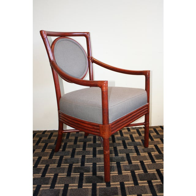 Mcguire orlando diaz azcuy salon dining arm chair chairish for A new image salon orlando