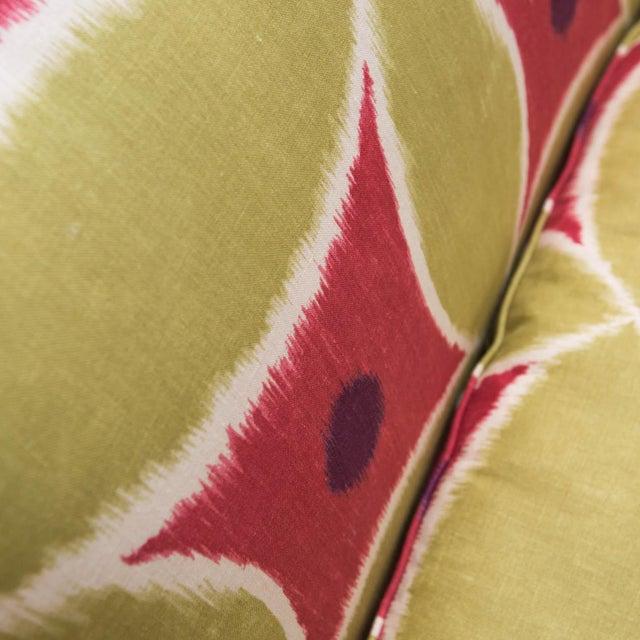 Custom Upholstered Down-Filled Loveseat - Image 6 of 9