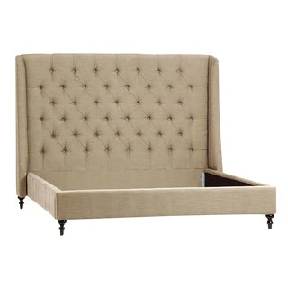 Modern Tufted Bed Frame Eastern King