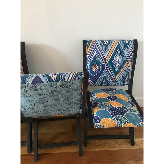 Anthropologie Terai Folding Chairs - Set of 4 - Image 5 of 5