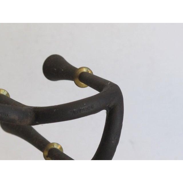 Danish Modern Metal Candelabra - Image 8 of 8