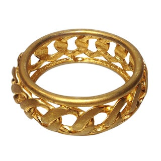 1980s Goldtone Bangle