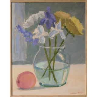 """Bouquet with a Peach"" by Anne Carrozza Remick"