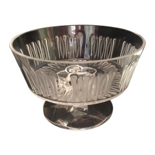 Lalique Crystal Bowl