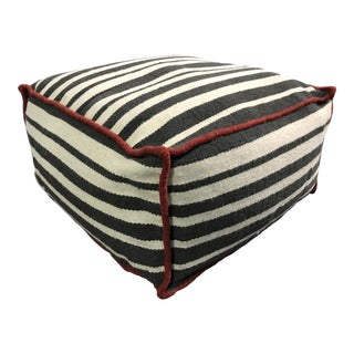 "One Kings Lane ""Roads"" Decorative Pouf"