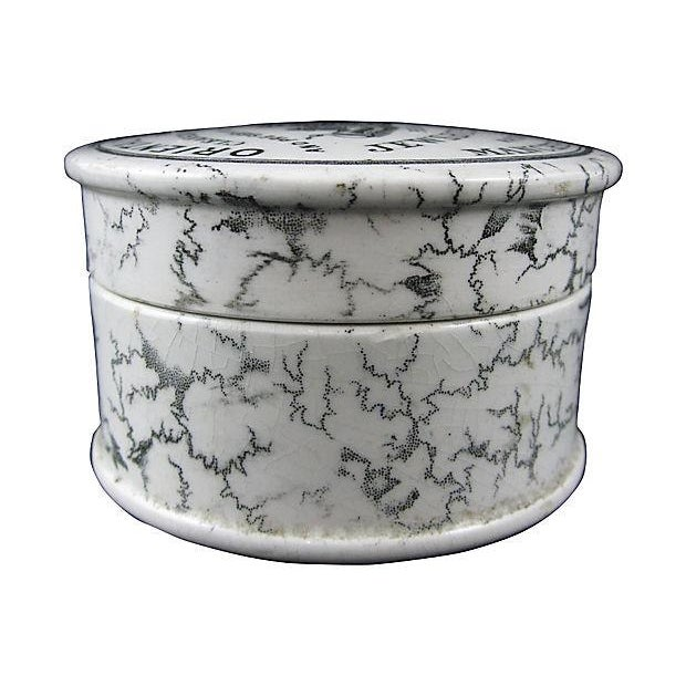 Image of Staffordshire Toothpaste Pot, C.1880