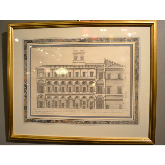17th Century Engravings - Palazzi Di Roma - A Pair - Image 3 of 8