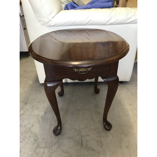 Pennsylvania House Queen Anne Side Table - Image 3 of 6