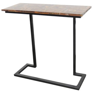 Modern Design Metal Base Console
