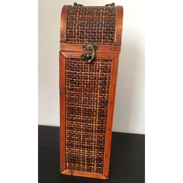 Image of Antique Wine Wood Box