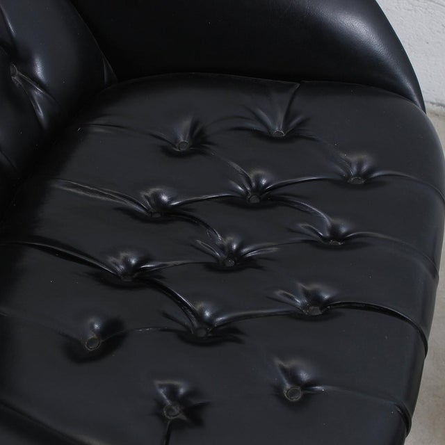 MCM Mulhauser Molded Wood Lounge Chair & Ottoman - Image 10 of 10