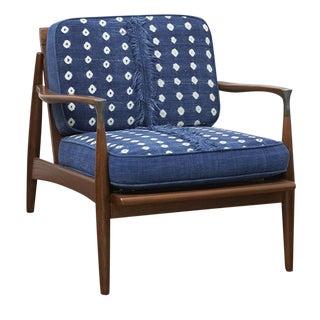 Custom Mid Century Lounge Chair